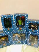 Used Medicom Toy Disney Toy Story Figure Set Andy Sid Scud With Box