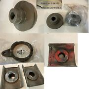 Gravely Parts Lot Sheaves Blade Saddles Roller Plate Some New Some Used.
