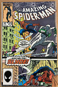 The Amazing Spiderman Comic 272 Vf Jan 1986 Slyde Appearance Lots Of Pictures