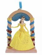2020 Disney Sketchbook Belle Fairytale Moments Ornament Beauty And The Beast Nwt