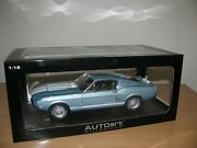 118 Autoart Shelby Mustang Gt500 1967 Rare New Non-displayed