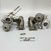 650hp Twin Turbo Charger Td04l 16t Billet 6+6 Stage 2 For Bmw 135i 335i N54 3.0l