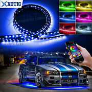 Rgb Multi Color Led Underglow Neon Light App Control Timing For Nissan Infiniti