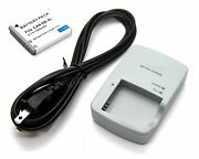 Battery + Charger For Canon Ixy 200f 10s 30s 31s 32s Brand New