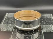 Silver Plate Wine / Bottle Coaster. Made By Crescent Silver Birmingham. England.