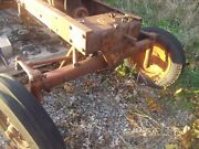 Allis Chalmers Wd 45 Wd45 Ac Tractor 4-bolt Wide Frontend Widefront W/ Hubs Only