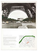 Javacheff Christo - The Wrapping Of The Ecole Militaire 1972 - Lithographie Ori