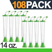 Yard Cups 108 Lime Cups 14 Oz. - For Margaritas, Cold Drinks, Frozen Drinks