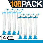 Yard Cups 108 Blue Cups 14 Oz. - For Margaritas, Cold Drinks, Frozen Drinks