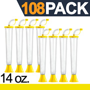 Yard Cups 108 Yellow Cups 14 Oz. - For Margaritas, Cold Drinks, Frozen Drinks