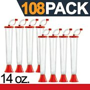 Yard Cups 108 Red Cups 14 Oz. - For Margaritas, Cold Drinks, Frozen Drinks