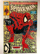 Spider-man 1 1990 Todd Mcfarlane Signed And Stamped Green Edition -first Print