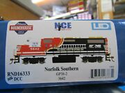 Athearn Roundhouse 16333 Ho Norfolk Southern Gp38-2 Dc, Dcc Rd 5642 Training