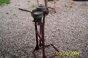 Vintage Evinrude Elto Outboard Motors Made In Milwaukee Compression With Stand
