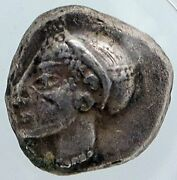 Phocaea In Ionia Authentic Ancient 550bc Silver Greek Coin Diobol/hem Ngc I88897