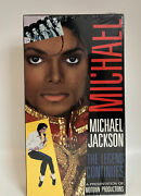 Michael Jackson The Legend Continues 1988 Original Vhs Tape New Still Sealed