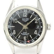 Tag Heuer Carrera Gmt Steel Automatic Mens Watch Ws2113 Head Only Bf522061