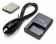 Battery + Charger For Canon Powershot S100 Sd700 Is Sd790 Is Sd800 Is Sd850 Is