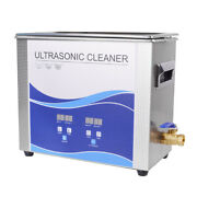 10l Digital Ultrasonic Cleaner Machine With Timer 300w Heating Cleaning Durable