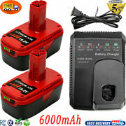6.0ah Lithium C3 Diehard Battery Or Charger For Craftsman 19.2v Xcp 11375 Pp2011