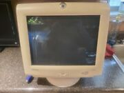 Compaq 16 Crt Computer Monitor Fs740 Tested Vintage Retro Gaming Pc Dos Display