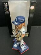 Justin Turner Dodgers Signed 2020 Ws Bobblehead 2020 Ws Champs Psa 9a70538
