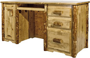 Montana Woodworks Glacier Country Collection Computer Desk