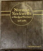 .999 Pure/fine Silver, One Pound Troy By Norman Rockwell And Hamilton Mint 1975