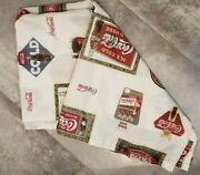 Coca Cola Bathroom Shower Curtain, Great Graphics, Approx. 70 X 68 Free Ship