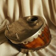 Antique 1936 Royal Horse Shoe Hungary Husar Calligraphy Ink Fountain Pen Inkwell