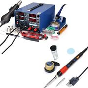 Yihua 853d 2a Usb Professional Soldering, Rework And Power Supply Station With