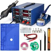 Yihua 853d 2a Usb Professional Soldering Rework And Power Supply Station Bundle