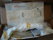 Nos Triple A Black And Chrome Floor Boards Kit Suzuki 1972 And 1973 Gt750 Lemans