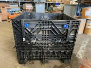 👀 Heavy Duty Plastic 48 X 40 X 40 Tall Gaylord Collapsible Box Crates