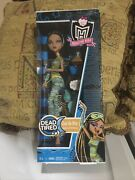 Monster High Dead Tired Cleo De Nile Doll, Nib, N0 Offers, No Emails