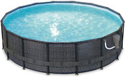 Summer Waves P4a01648b 16ft X 48in Above Ground Frame Outdoor Swimming Pool Set