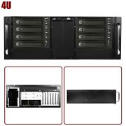 4u Rackmount Server Chassis Case 8x 3.5 Hot Swap And 4x 5.25 Drive Bays 2 Fans