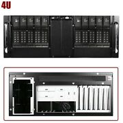 4u Rackmount Server Chassis Case 10x 3.5 Trayless Hot Swap And 4x 5.25 Drive Bay