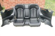 03-09 W209 Mb Clk350 Clk550 Rear Right Left Seat Cushions Subwoofer Side Panels