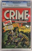 Crime Does Not Pay 29 - Cgc 8.5 - 1943 - Golden Age