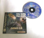 Namco Demo Disc Ps1 Playstation Cool Games Free Stuff