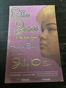 Etta James House Of Blues Concert Poster New Orleans July 10, 2005 11x17