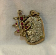 """Shipwreck Coins Jewelry """"1618 Rill Cove"""" Wreck 2 Reales"""