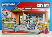 Playmobil City Life Grocery Store Set 70320 New 109 Pieces 4+