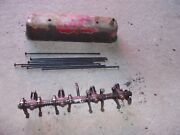 Farmall 300 Ih Rc Tractor Original Engine Motor Rocker Arm W/ Push Rods And Cover