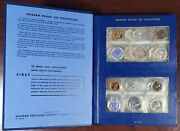 9450 Whitman Modern Proof Set Collection Years 1957-1964 8 Five-coin Sets