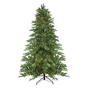 Northlight 7.5and039 Mont Blanc Fir Artificial Christmas Tree - Dual Color Led Lights