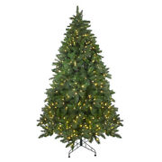 Northlight 7.5and039 Scotch Pine Artificial Christmas Tree - Warm White Led Lights