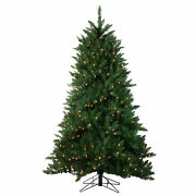 Northlight 12and039 Montana Pine Artificial Christmas Tree - Clear Lights