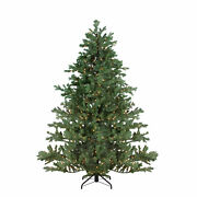 Northlight 9and039 Pre-lit Mountain Pine Artificial Christmas Tree - Clear Lights